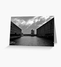 Liverpool Dock Greeting Card