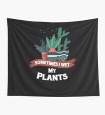 Gardening flower garden father's day gift shirt Wall Tapestry