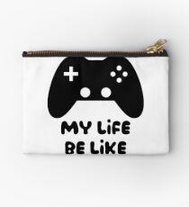 Bolso de mano El juego es vida