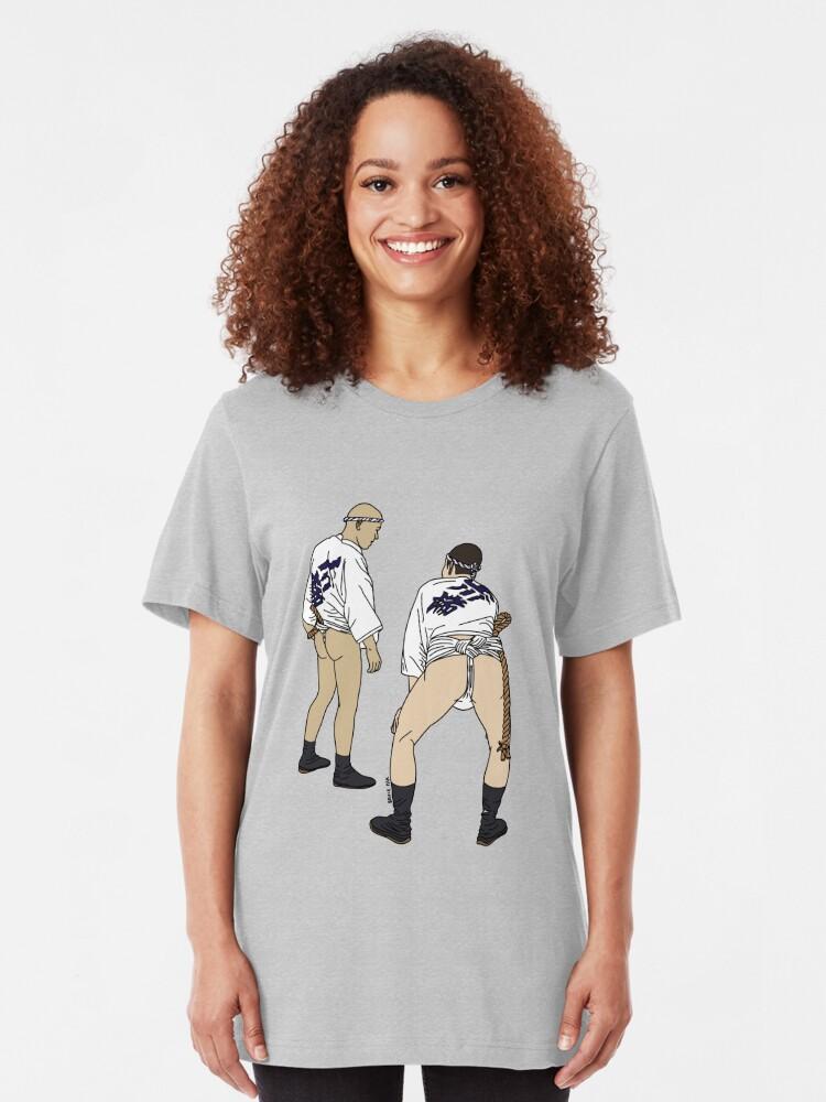 Alternate view of Festival Fundoshi Slim Fit T-Shirt