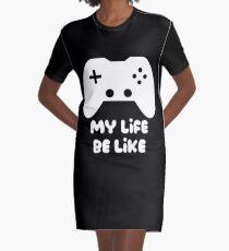 Vestido camiseta El juego es vida