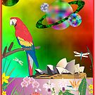 Parrot Opera of the Universe by Faith Dominoe