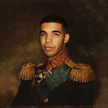 Drake - Satirical portrait  by Grundelboy