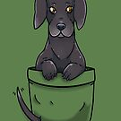 Pocket Cute Great Dane Dog by TechraNova