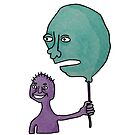 Balloon Boy and Boy Balloon  by Helen Grimes