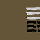 12 Stagnation I Ching Hexagram by SpiritStudio