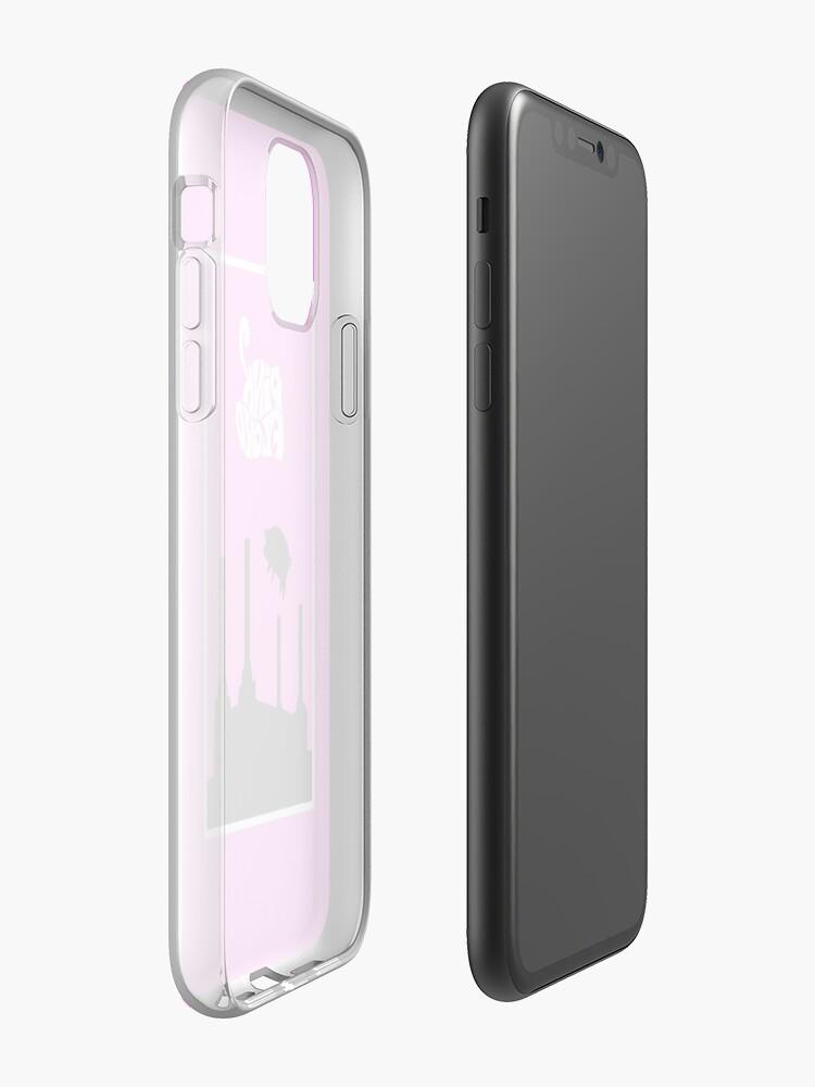 Coque iPhone «Pinky Floidy», par afonsolizardo