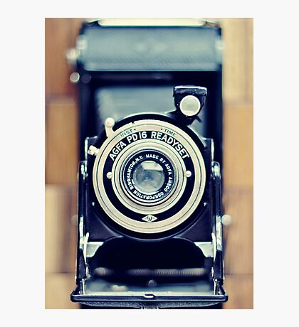 Agfa Readyset Vintage Camera Photographic Print
