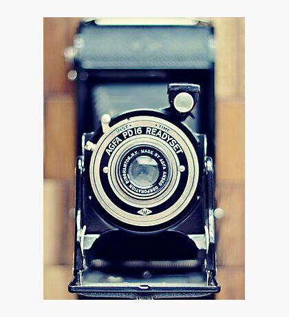Agfa Readyset Vintage Camera Photographic Print