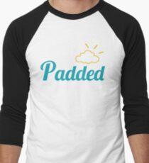 Padded AB DL ageplay ABDL adult baby diaper Men's Baseball ¾ T-Shirt