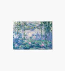 Lámina de exposición Bellas Artes de Claude Monet