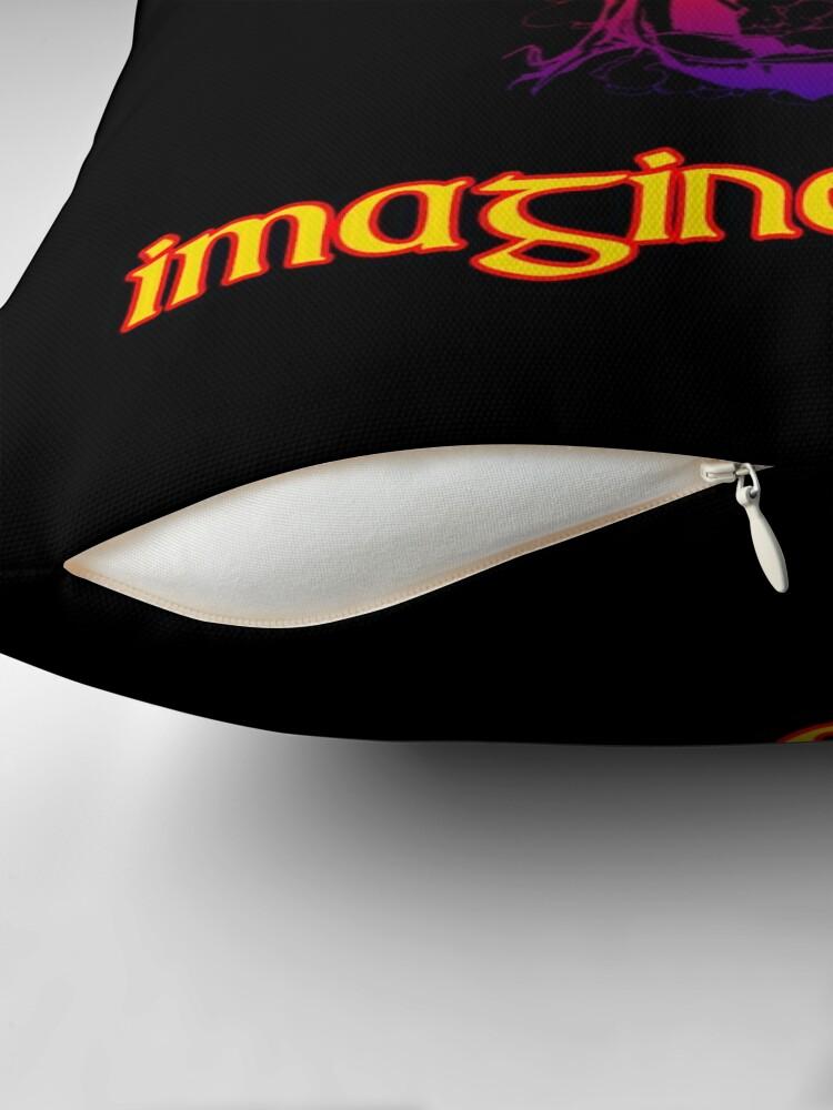 Alternate view of imagine dragons Throw Pillow