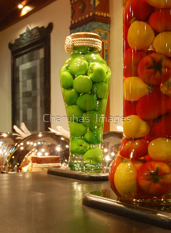 "Decorative Infused Olive Oil: ""Decorative Bottles"" By Charuhas Images"