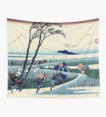 Ejiri in Suruga Province - Katsushika Hokusai Wall Tapestry