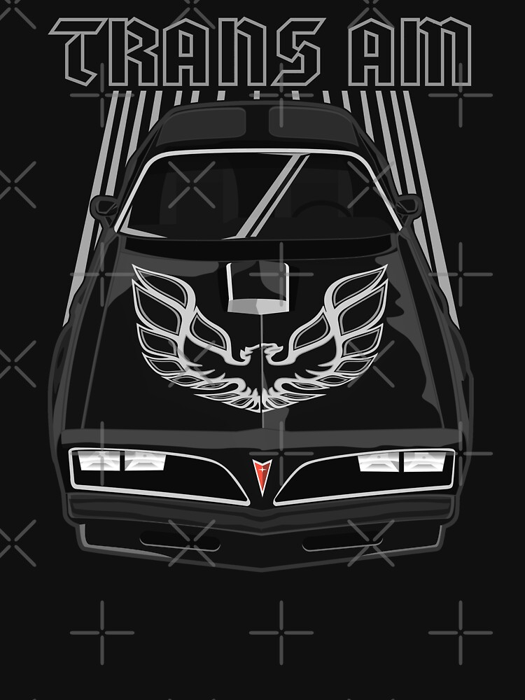 81007102 Pontiac Firebird Trans Am 77-78 - Black and Silver