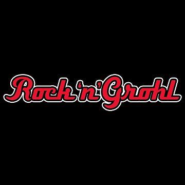 Rock 'n' Grohl  by bleedesigns
