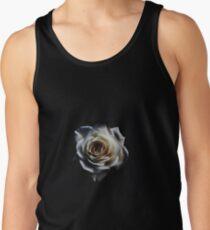 Classic white rose Tank Top