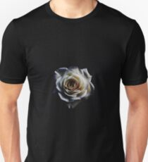 Classic white rose Unisex T-Shirt