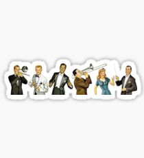 American Swingers Baby Sticker