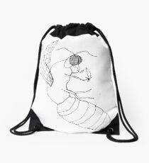 killer bee Drawstring Bag