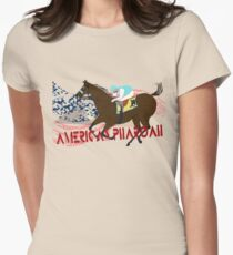 American Pharoah - Kentucky Derby 2015 Womens Fitted T-Shirt