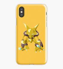 Alakazam Pokemon Simple No Borders iPhone Case