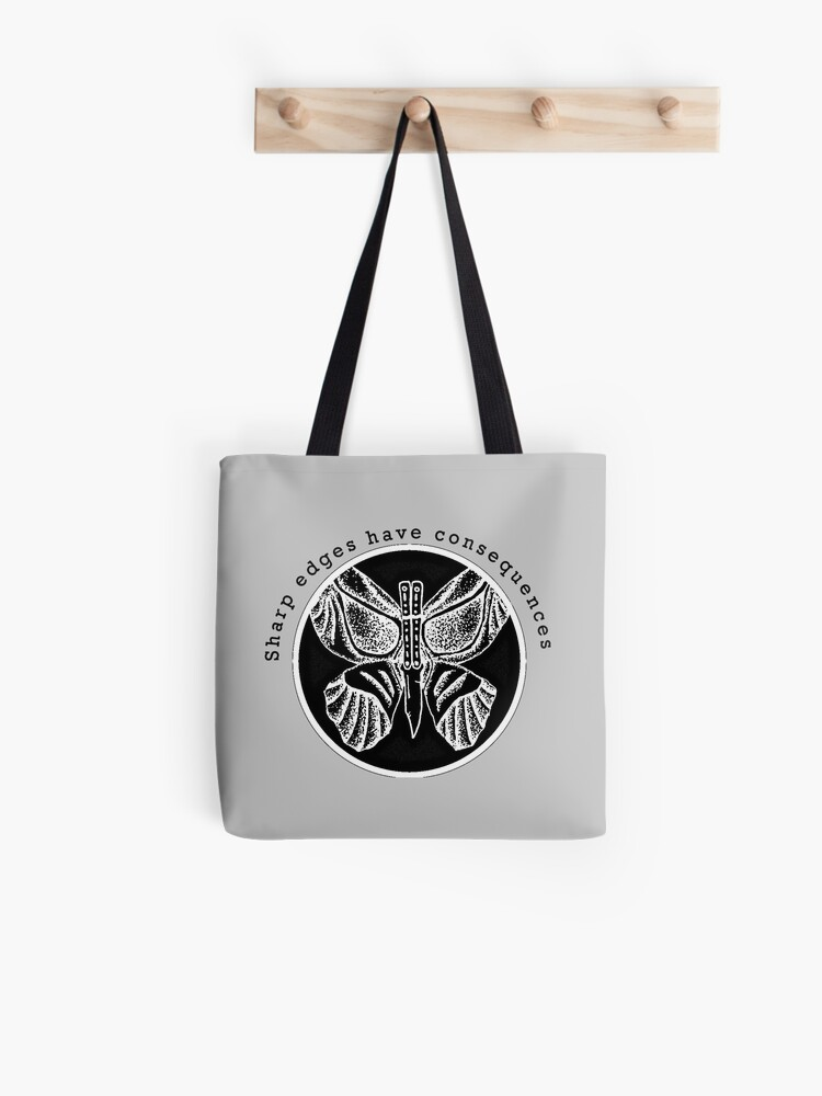 Butterfly Knife Sharp Edges | Tote Bag