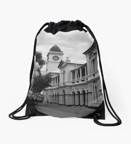 Townsville Post Office - Now a Pub (The Brewery) Drawstring Bag