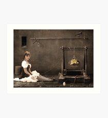 Doll ( her life ) Art Print