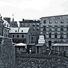 Lower Quebec City by Brenda Dow