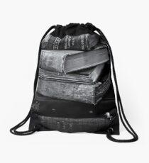 Old Books Drawstring Bag
