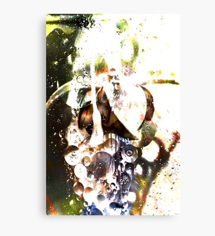 The Anointing Oil Canvas Print