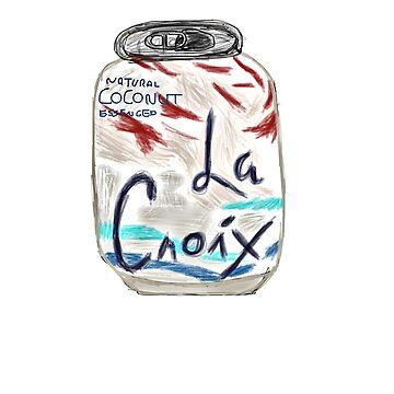 Coconut La Croix Drawing by jeremiahm08