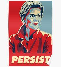 Elizabeth Warren - Persist Poster