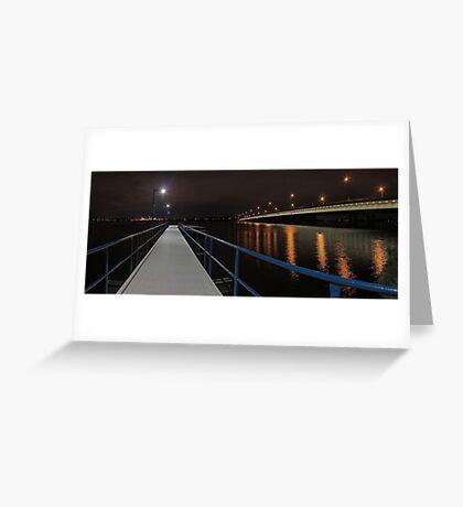 New Mount Henry Bridge Jetty - Western Australia  Greeting Card