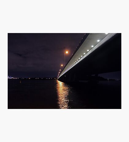 Under The Mount Henry Bridge  Photographic Print