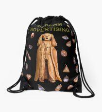 Scream Advertising Drawstring Bag