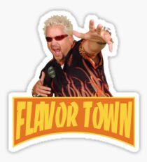 Pegatina Guy Fieri - Flavortown