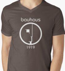 Camiseta para hombre de cuello en v Bauhaus