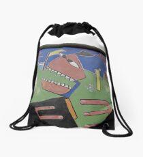 Berlin Wall Drawstring Bag