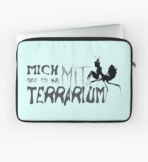I only exist with terrarium Laptop Sleeve