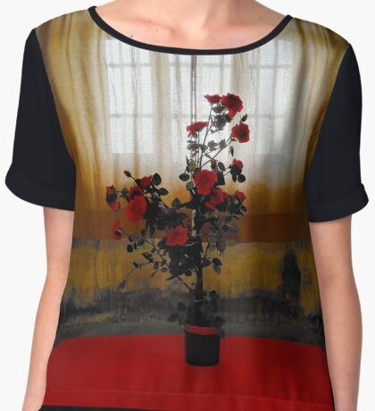 the Rose Women's Chiffon Top