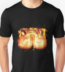 Time machine steampunk burning Unisex T-Shirt