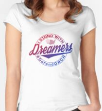 Stand With Dreamers Women's Fitted Scoop T-Shirt