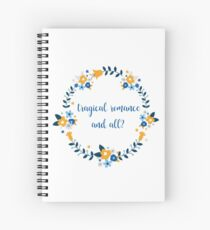 Tragical romance and all crown version Spiral Notebook