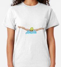 Schmetterlingsschwimmen Classic T-Shirt