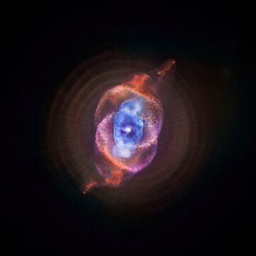 Cat's Eye Nebula  by EdgarCurious