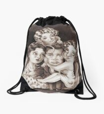 Mr Popular Drawstring Bag