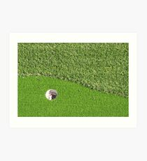 On the Green Art Print