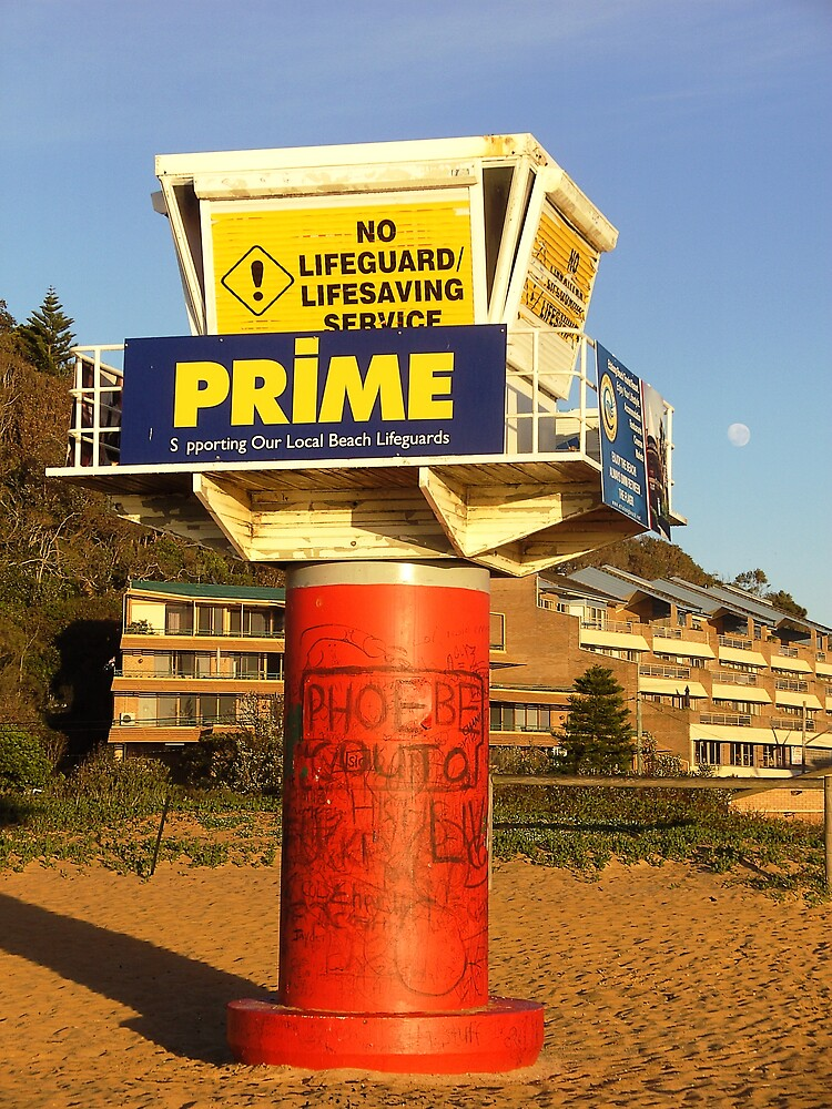 Lifesavers lookout by largo